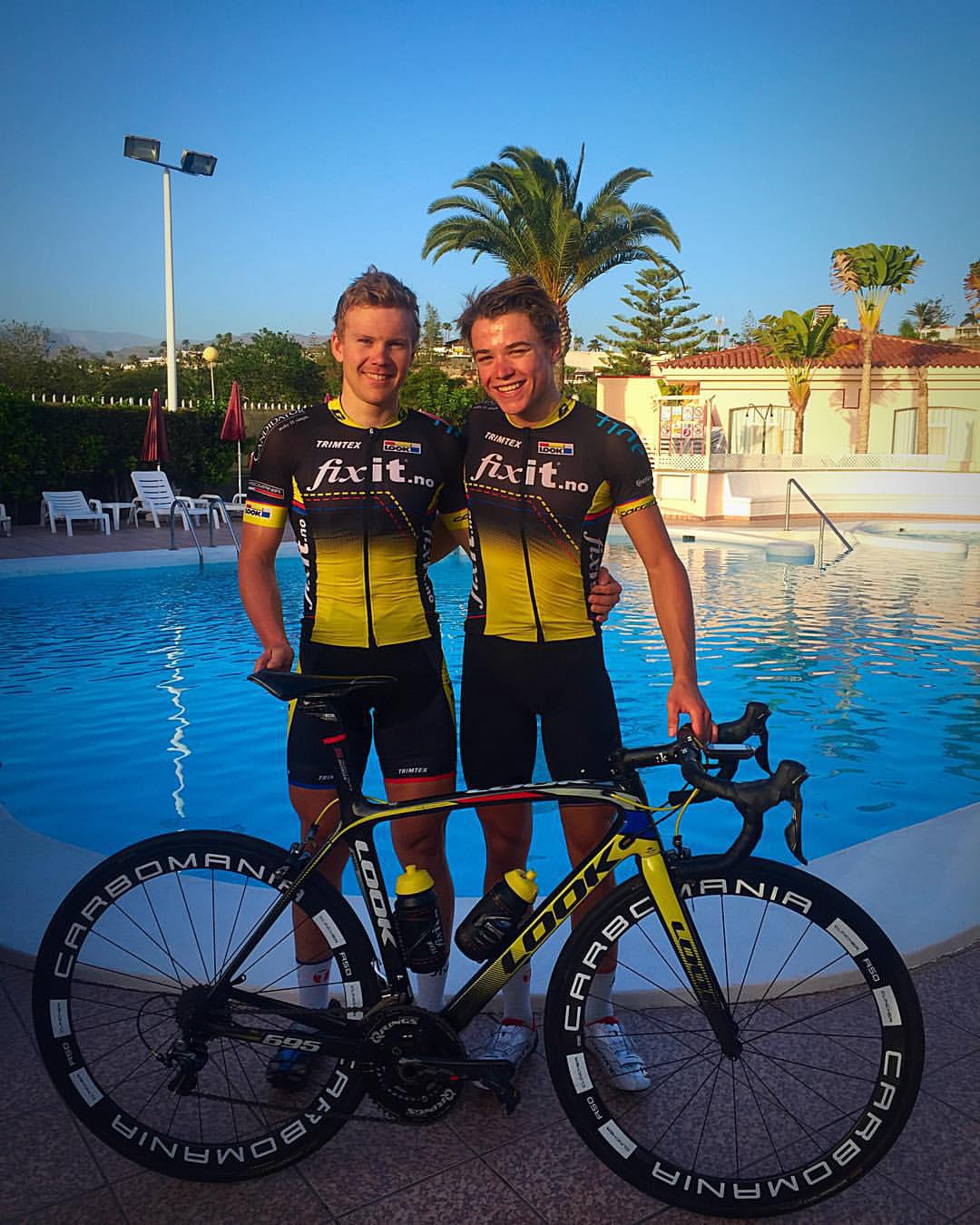 Lagkompiser: Ken-Levi Eikeland og Anders S. Jacobsen. Foto: Team FixIT.no