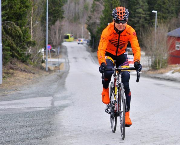 Tilbake: Kyssesyke ødela hele forsesongen i fjor; først i april var Trondsen tilbake i trening. Foto: Tore Sæther/Team Sparebanken Sør