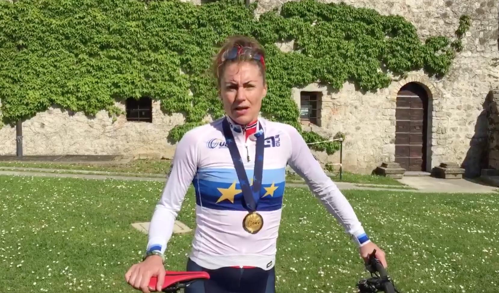 Dahle Flesjå tok nytt EM-gull – 16 år etter det første