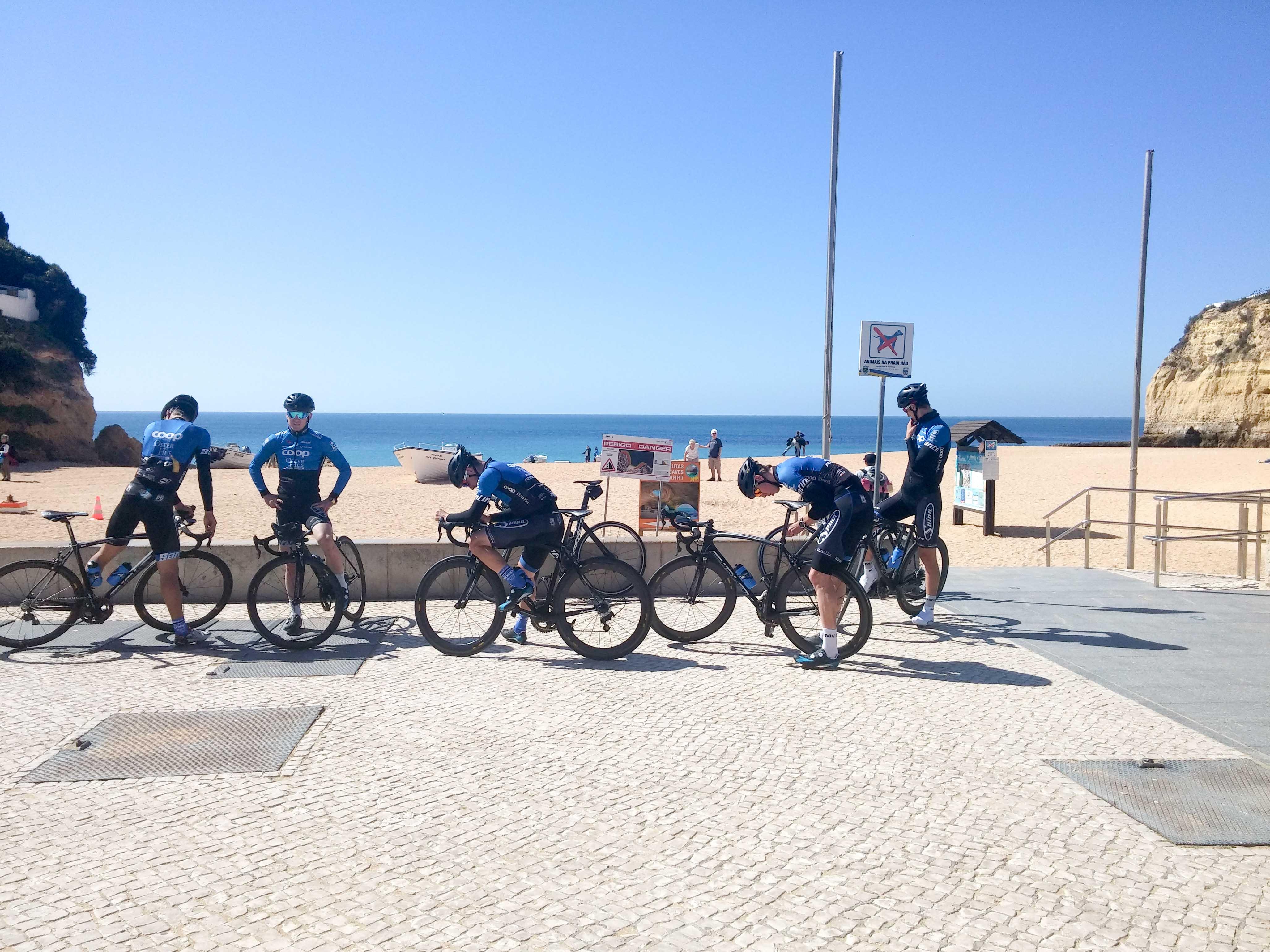 Flotte forhold: Som kontinentalryttere får vi se mange flotte steder. Portugal er hittil favoritten!