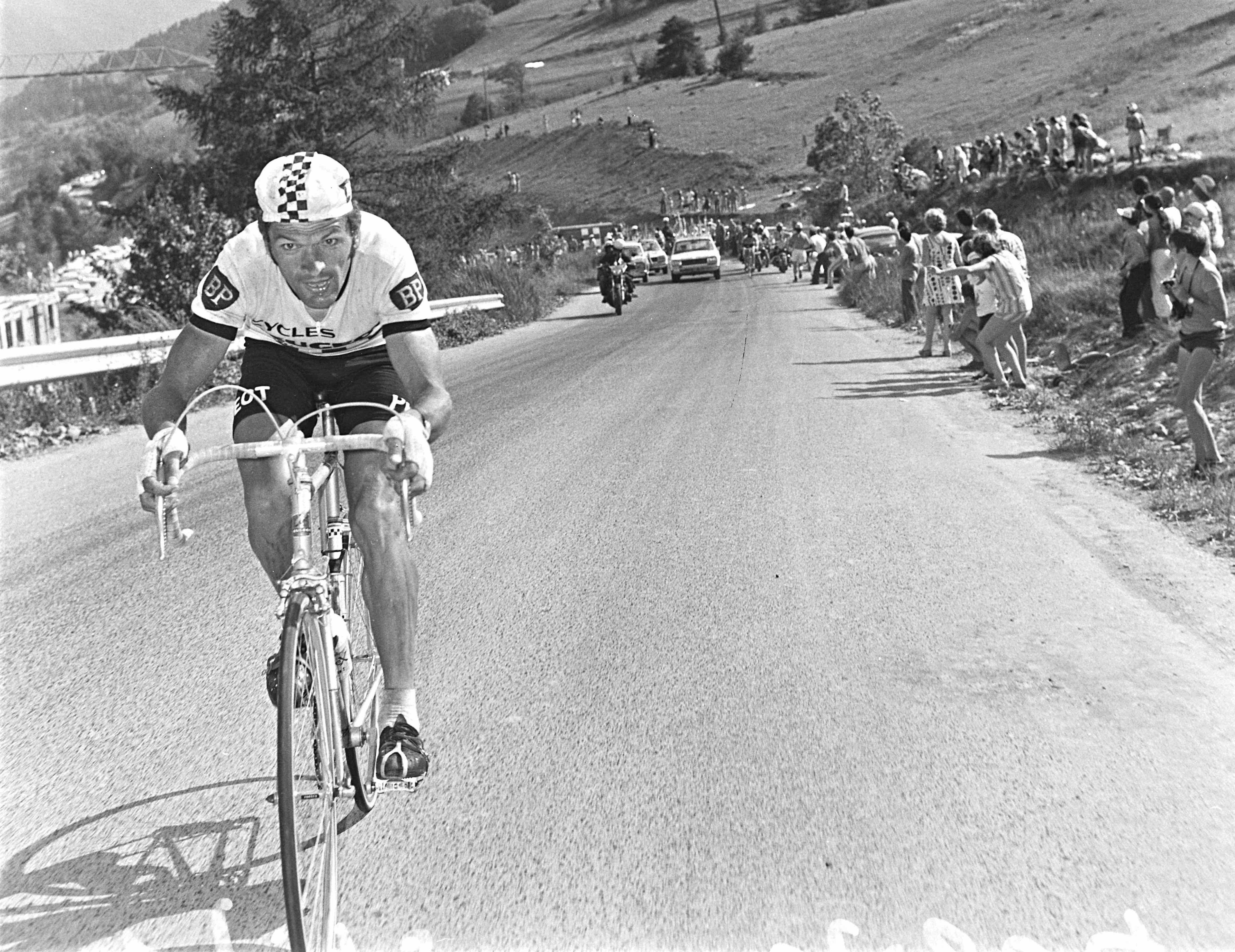 CYCLISME - TOUR DE FRANCE 1975 - 1975 thevenet (bernard) - (fra) -  fonds n/b
