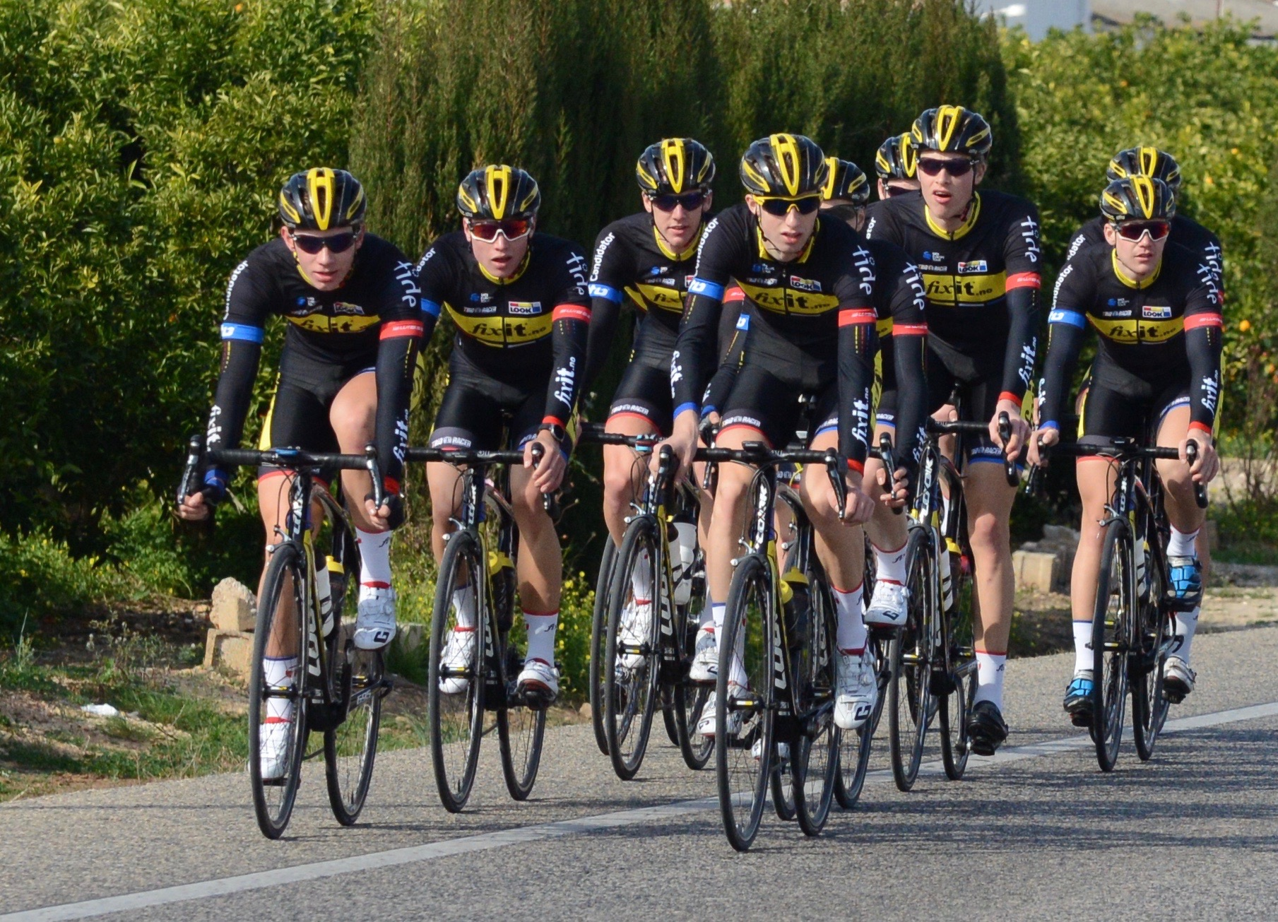 Kommer: - I stedet for å kjøpe oss til UCI-poeng, satser vi å bygge noe på egenhånd, skriver Kristoffer Madsen. Foto: Frode Jarle Jacobsen, Team FixIT.no