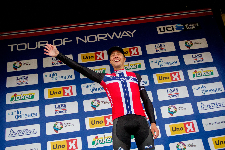 Smiler igjen: 2016 har gitt Edvald Boasson Hagen all grunn til å trekke på smilbåndene igjen. 29-åringen er tilbake. Foto: Tour of Norway