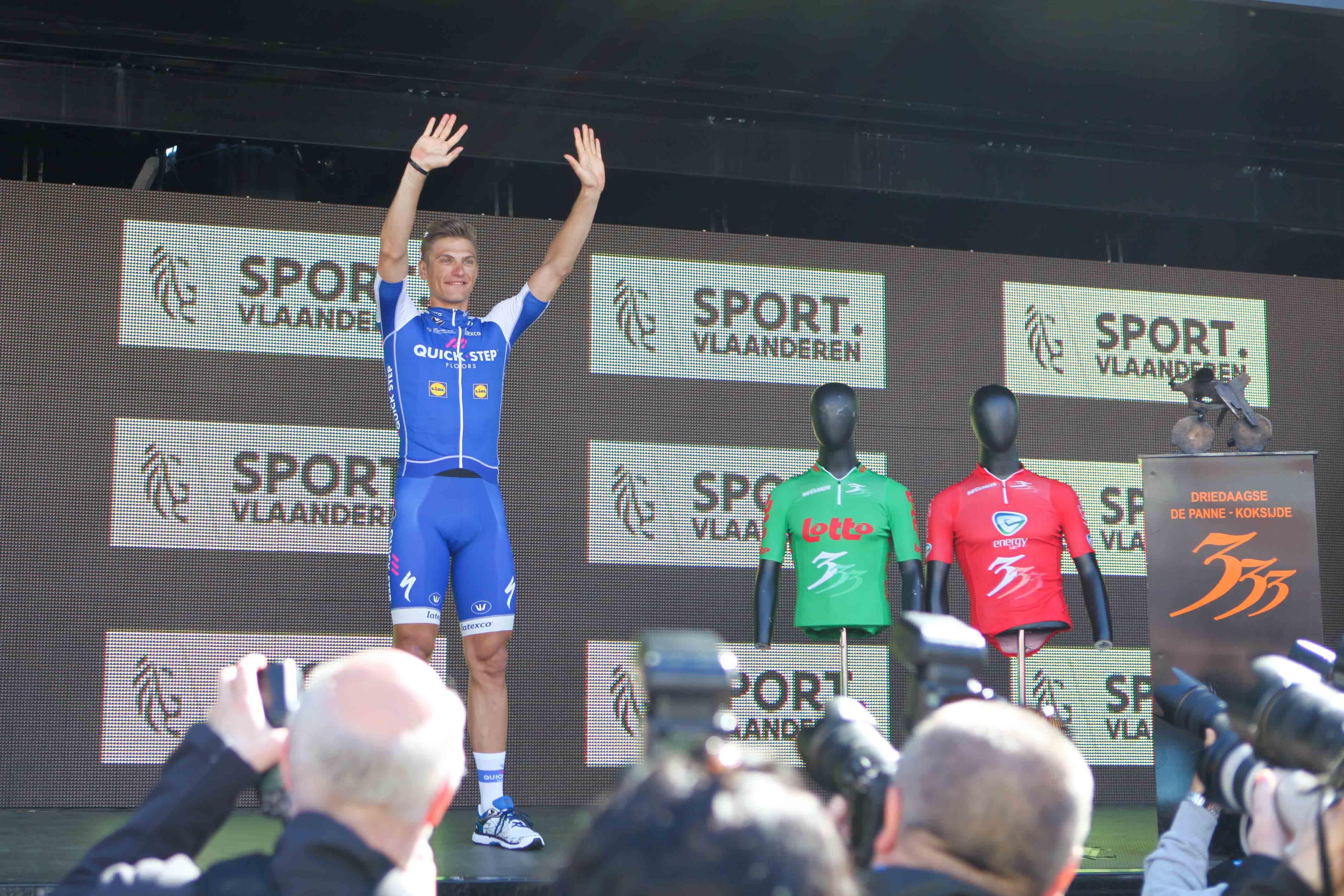 Spurtkongen: Marcel Kittel har god historikk i De Panne. Han vant tilsvarende etappe i fjor. Foto: Kjetil R. Anda / Sykkelmagasinet