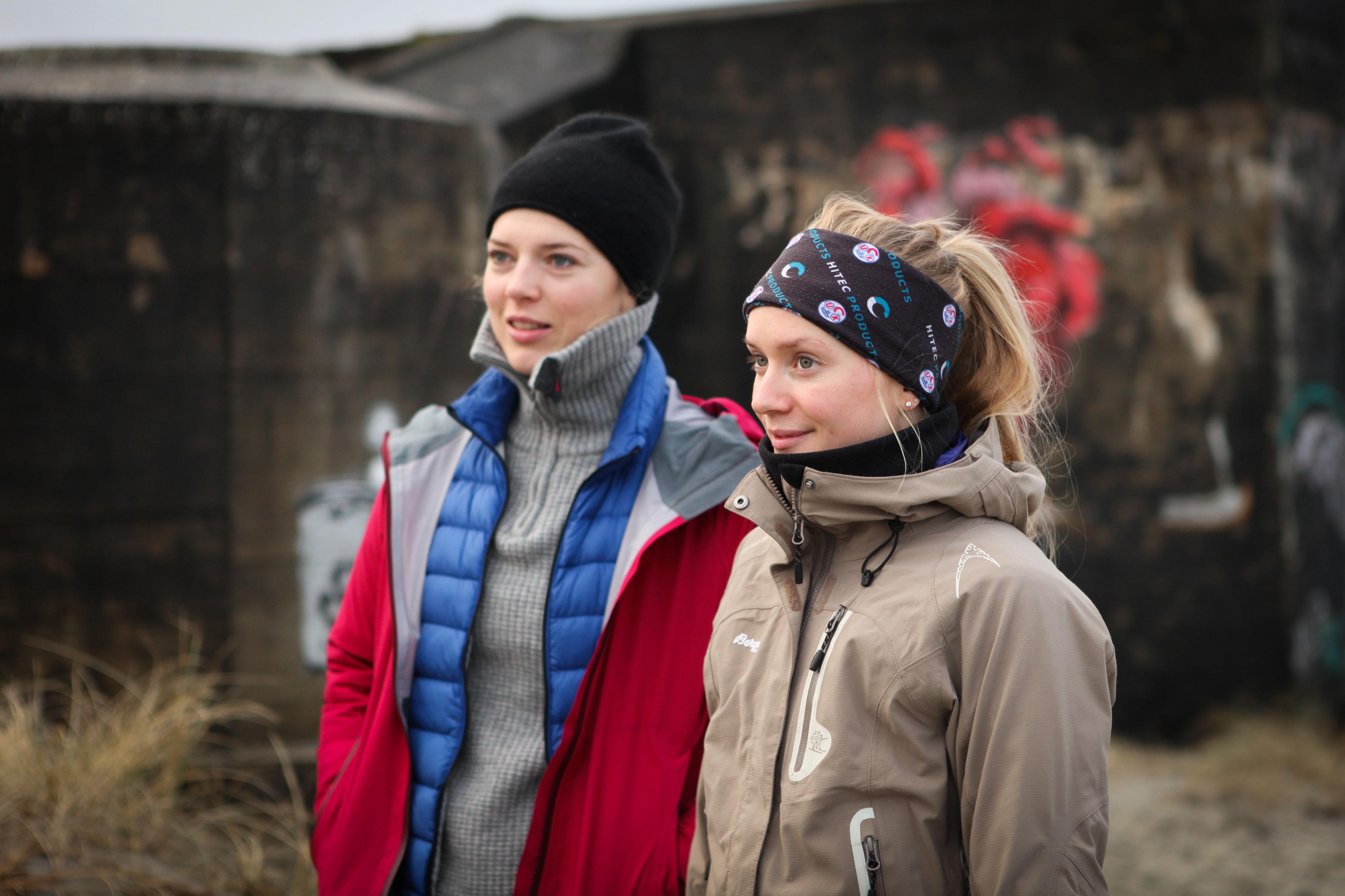 Stayer: Thea Thorsen er inne i sin sjette sesong i Team Hitec Products. På den tiden har hun rukket å følge kvinnesyklingens evolusjon. Her sammen med en annen Hitec-veteran, Miriam Bjørnsrud. Foto: Sykkelmagasinet