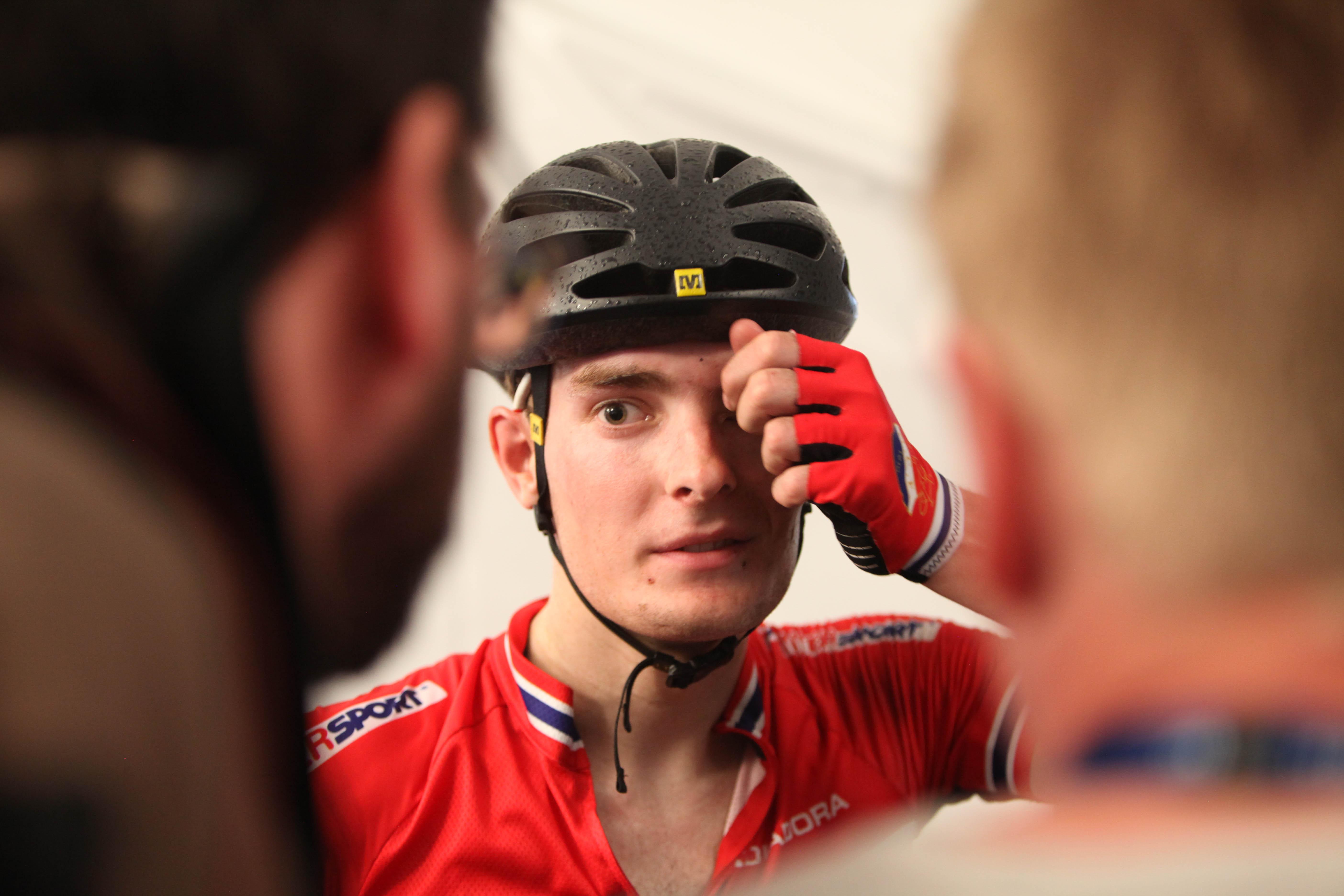 Erfaren syklist: Markus Hoelgaard er godt kjent i sykkelmiljøet hvor han har syklet for henholdsvis Quick-Steps utviklingslag, Team Coop, og nå senest Joker Icopal. 22-åringen har også flere opptredener på landslaget. Foto: Sykkelmagasinet