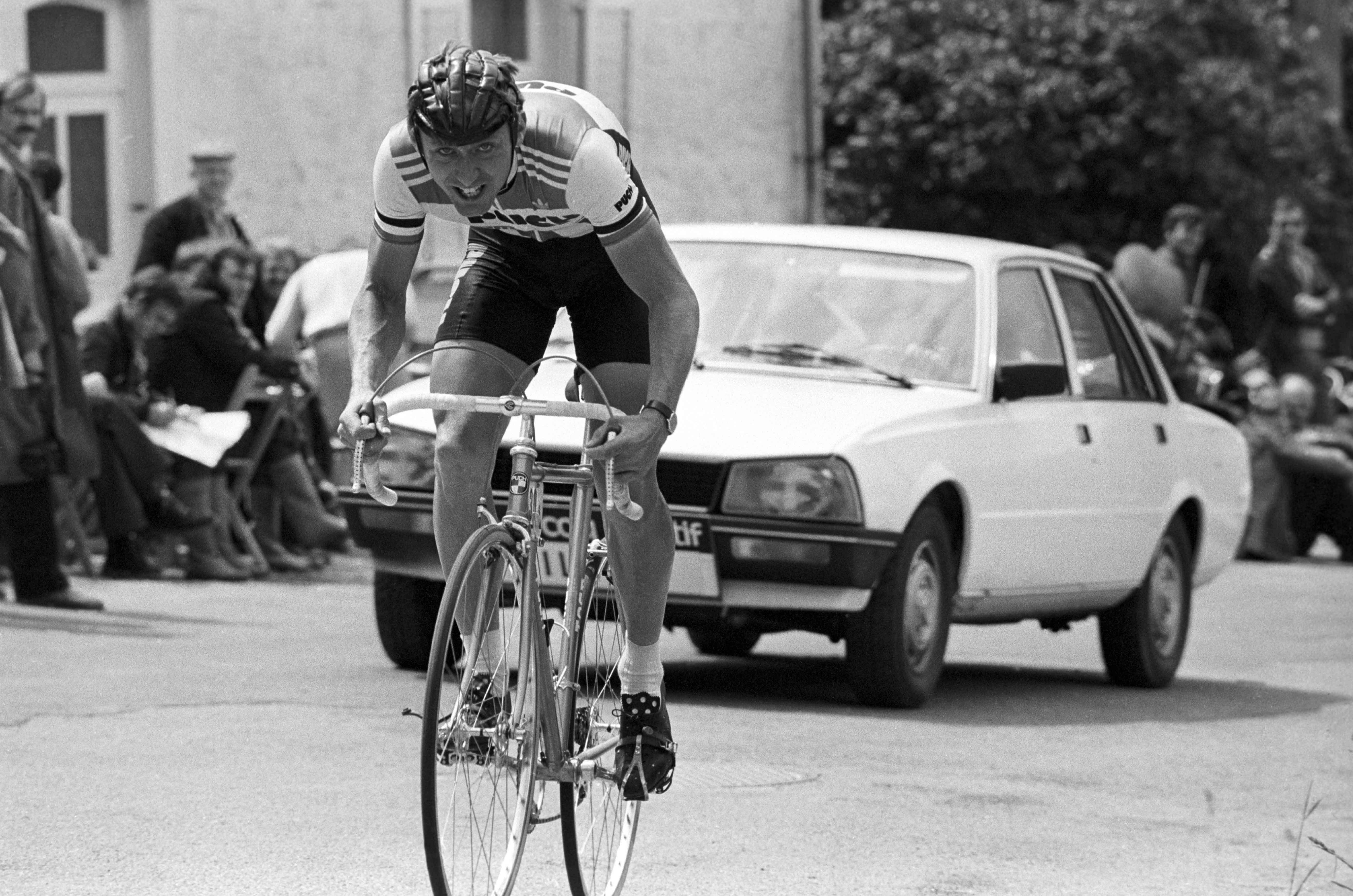 CYCLISME - TOUR DE FRANCE 1980 - 1980 wilmann (jostein) *** Local Caption ***   fonds n/b