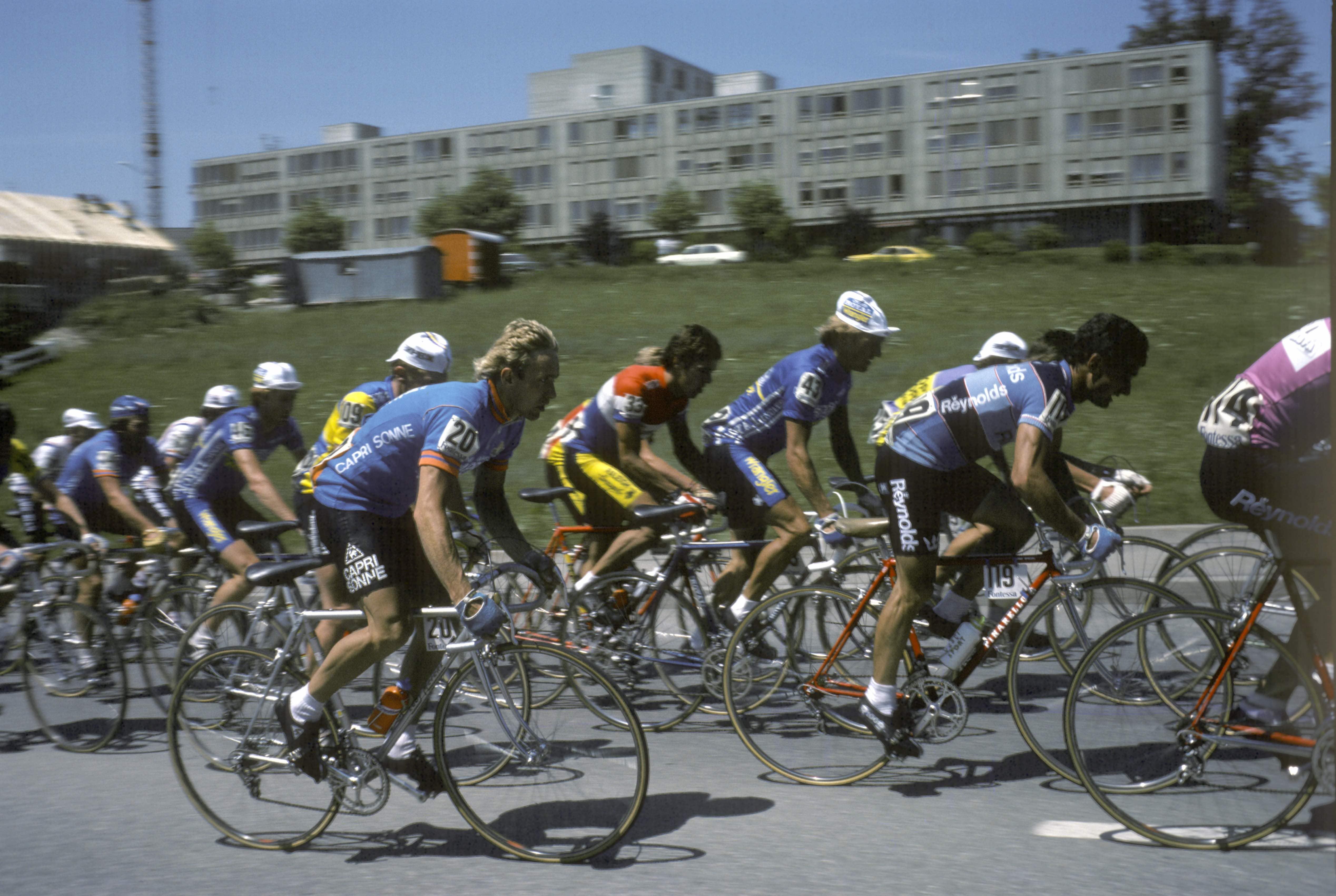 Wilmann under Tour de Suisse i 1980